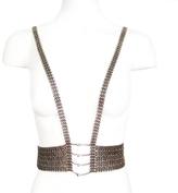 Louise Manna Sateen Vest Necklace