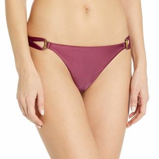 Vix Women's Solid Thai High Neck Halter Bikini Top