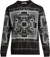 Givenchy Map-print cotton sweatshirt