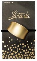 La-ta-da Brushed Gold Ponytail Wrap 1 Count