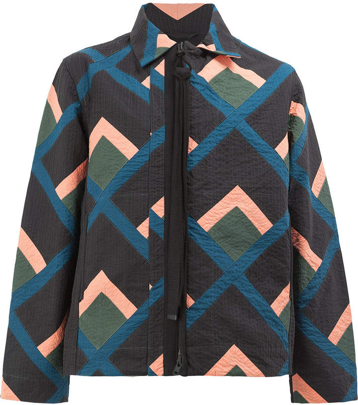 Craig Green colour-block zipped jacket