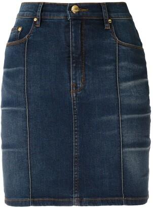 Cris high waisted denim skirt