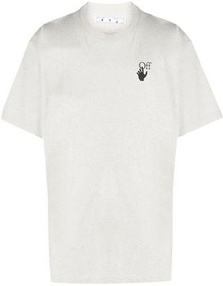 Off-White logo print short-sleeved T-shirt