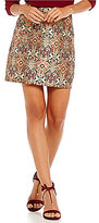 Gianni Bini Sienna Jacquard Mini Skirt