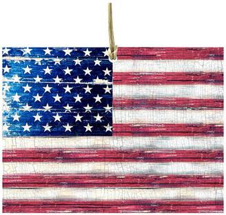 Designocracy American Flag Ornaments, Set Of 3