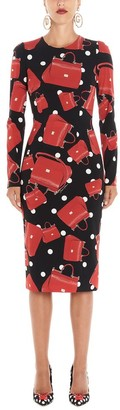 Dolce & Gabbana Printed Midi Dress