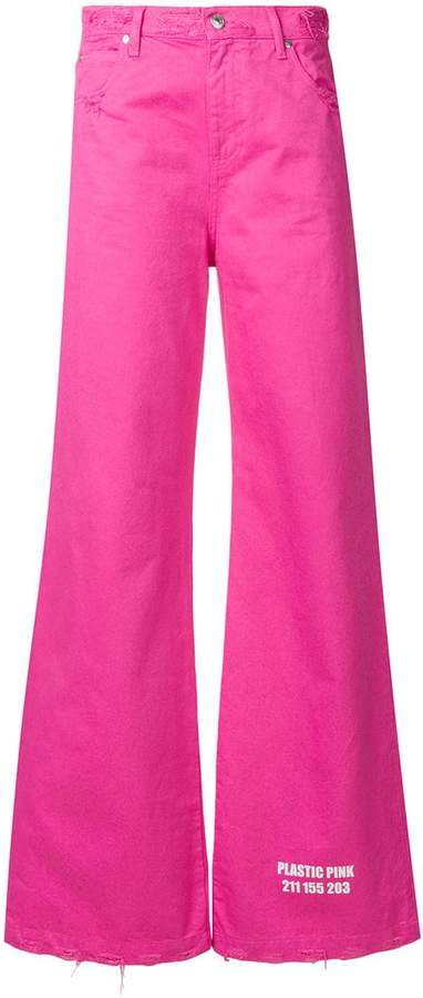 MSGM high-waist trousers