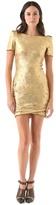 Torn by ronny kobo Mina Velvet Dress