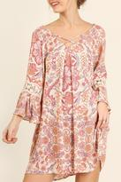 Umgee USA Pink Floral Dress