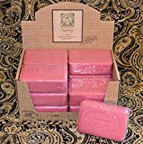 Pre de Provence Case of 12 Raspberry Scent 250 gram shea butter extra large soap bars