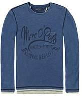 Marc O'Polo Marc O 'Polo Boys 'Long-Sleeved Shirt 2 in 1 T-Shirt 1/1 Arm - Multicoloured -