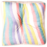 DENY Designs Fruit Stripes Floor Pillow