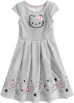Hello Kitty Evy of California Print Skater Dress, Toddler Girls