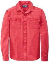 American Rag Men's Railroad-Striped Shirt