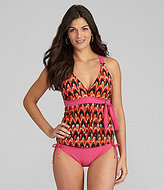 Alex Marie Swim Tribal Tankini & Tunnel-Tie Bottom