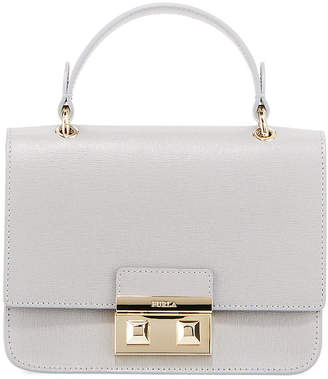 Furla Bella Mini Saffiano Leather Top-Handle Bag