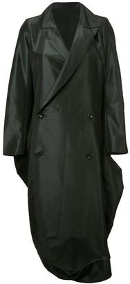 Yohji Yamamoto Pre Owned Bell Bottom Double Breasted Coat