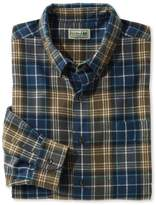L.L. Bean L.L.Bean Scotch Plaid Flannel Shirt, Slightly Fitted