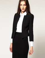 ASOS Cropped Blazer With Notch Lapel