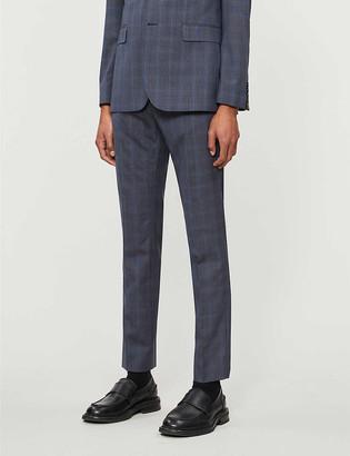 Ted Baker Debonair checked wool suit trousers