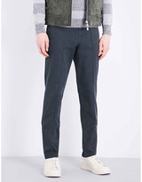 Brunello Cucinelli Regular-fit Tapered Cotton Chinos