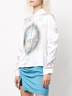 MAISIE WILEN Status Quo silk-blend blouse