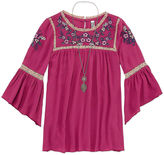 Beautees Tunic Top - Big Kid Girls
