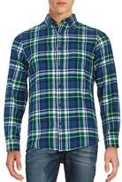Black Brown 1826 Plaid Flannel Sportshirt