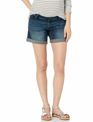 DL1961 Women's Karlie-Maternity Boyfriend Shorts