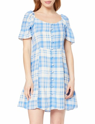 New Look Petite Women's Jules Check Dress