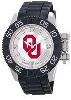 Game Time Beast Series Oklahoma Sooners Stainless Steel Watch - COL-BEA-OK - Men