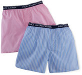 Ralph Lauren Cotton Boxer 2-Pack