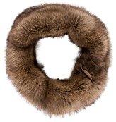 Christian Cota Knit Fur Shawl