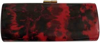 Jimmy Choo Celeste Red Patent leather Clutch bags