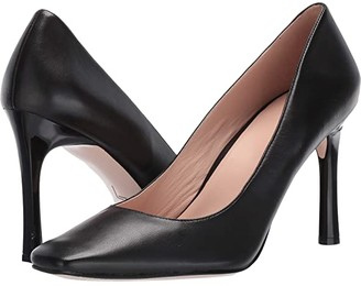 Naturalizer 27 Edit Paisley (Black Leather) High Heels