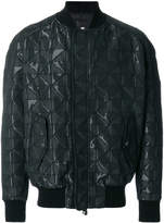 Tom Rebl quilted bomber jacket