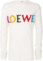 Loewe longsleeved logo T-shirt