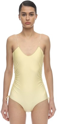 Oseree Basic Seam Lycra One Piece Swimsuit