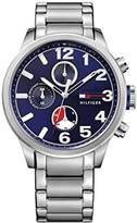 Tommy Hilfiger Mens Quartz Watch, multi dial Display and Stainless Steel Strap 1791242