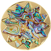 House Of Harlow Starburst Abalone Cocktail Ring - Size 7