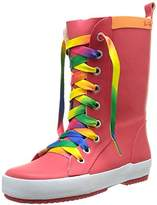 BeOnly Be Only Girls' Punky Rain Boots,9 UK