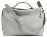 Skagen Mikkeline Leather Satchel - Grey