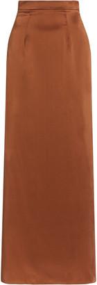 Safiyaa Rumi Silk Maxi Skirt