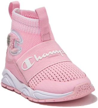Champion Rally Pro Stretch Sock Sneaker (Baby & Toddler)