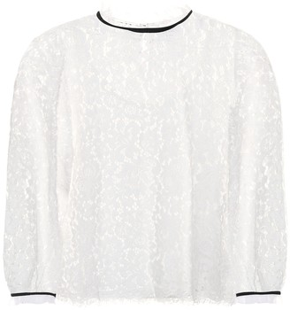 Velvet Ilise lace top