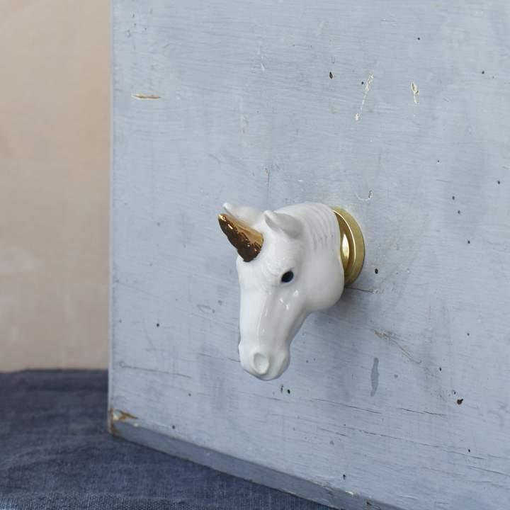 Graham and Green Unicorn Door Knob