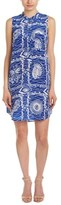 Nieves Lavi Silk Sleeveless Short Dress.