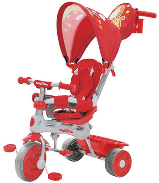 Trike Star 3-In-1 Grand Comfort Tricycle - Red No