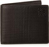 Loewe Textured-leather bi-fold six-card wallet