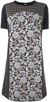 Antonio Marras floral pattern shortsleeved dress